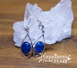 Apatite & Quartz Earrings