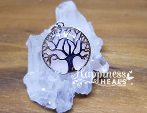 Tree of Life Rose Quartz