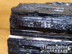 Black Tourmaline Scroll