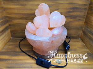 Himalayan Bowl Of Love Salt Lamp