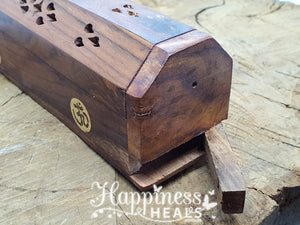 Incense Holders - Wooden Box
