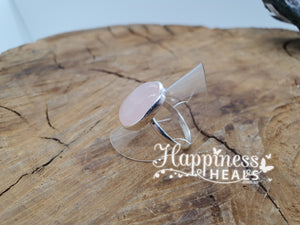 Rose Quartz Ring - Size 9