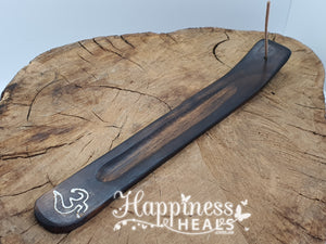 Incense Holder - Wooden - Ingraved