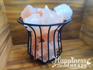 Himalayan Basket Salt Lamp