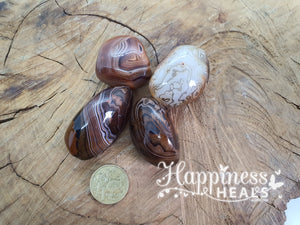 Banded Agate (Tumbled)