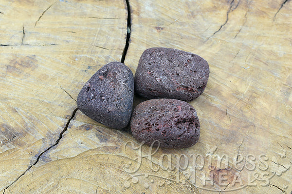 Brown Lava Tumbled