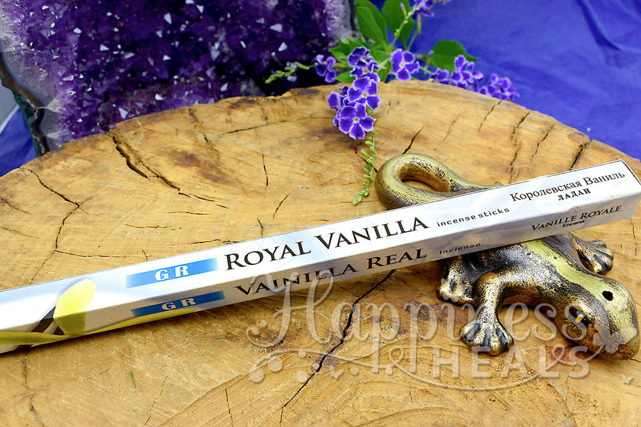 Royal Vanilla Incense Sticks - GR