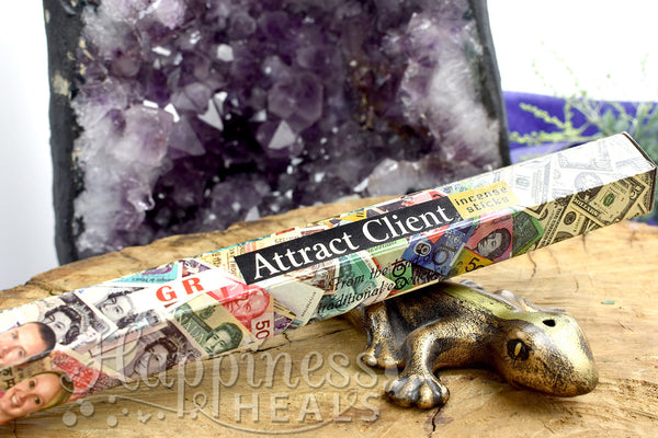 Attract Clients Incense Sticks - GR