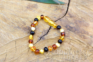 Amber Teething Bracelets - Children's Size