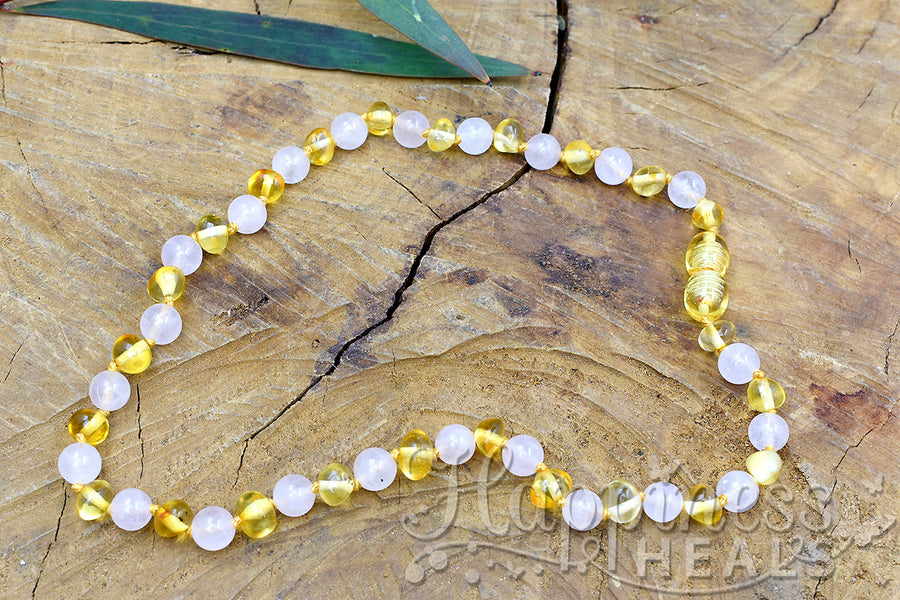 Amber Necklace - Children Size