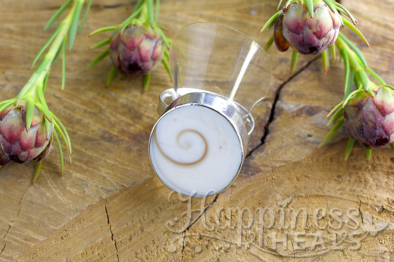 Shell Sterling Silver Ring