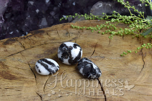 Zebra Jasper - Black & White (Tumbled)