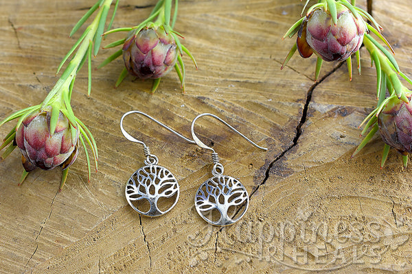 Tree of Life Sterling Silver Earrings