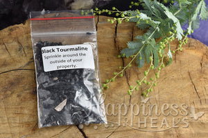Black Tourmaline Dust