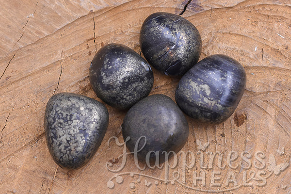 Healers Gold - Pyrite and Magnetite (Tumbled)