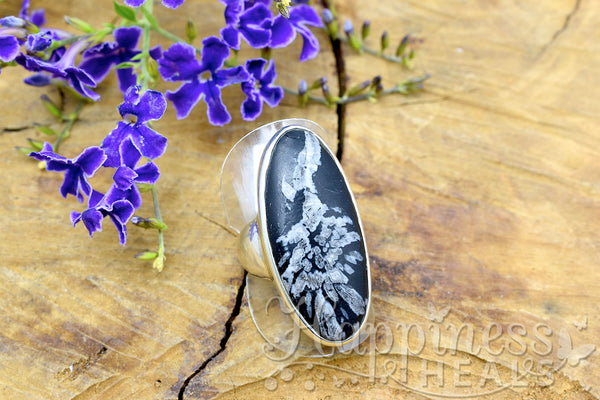 Chrysanthemum Stone Ring