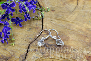 Herkimer Diamond Quartz Earrings