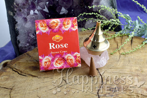 Rose Incense Cones - SAC