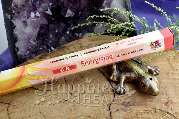 Energising Incense Sticks - GR