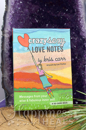 Crazy Sexy Love Notes Card Deck by Kris Carr