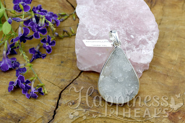 Apopholite Point Pendant