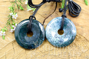 Moss Agate Donut