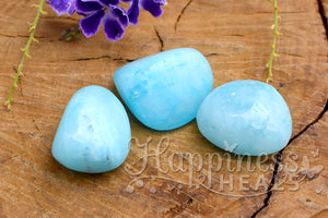 Blue Aragonite (Tumbled)