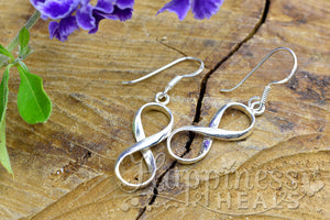 Infinity Sterling Silver Earrings