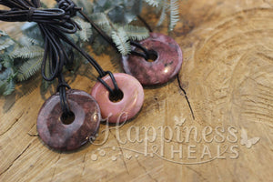 Rhodonite Donut