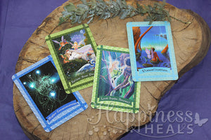 Healing With The Fairies Oracle Cards: A 44-Card Deck