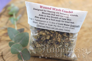 Wound Wash Herbal Tea