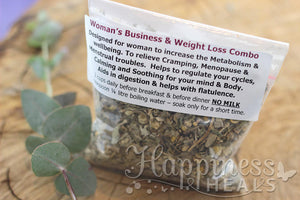 Women's Business & Weight Loss Combo Herbal tea
