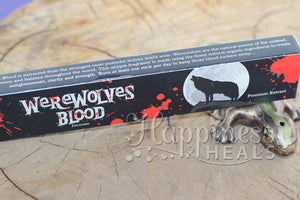 Warewolves Blood Incense - Sandesh