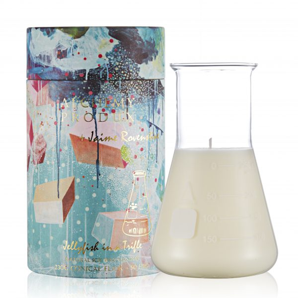 Conical Flask Candle - Sea of Sage by Jaime Rovenstine