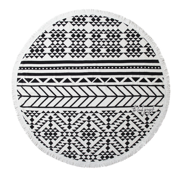 The Aztec Round Towel