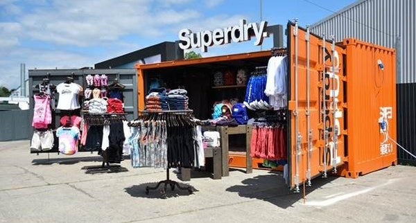 Superdry pop-up store | Shopify Retail blog
