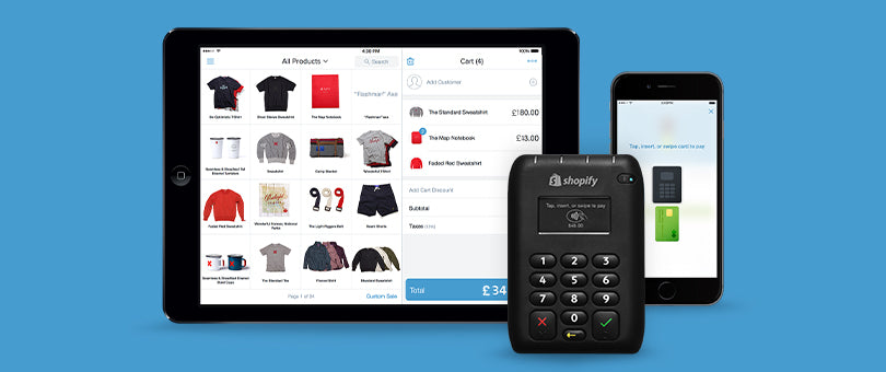 Introducing Shopify POS and Card Reader in the UK
