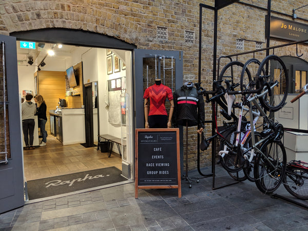 Rapha store and cafe, retail trends 2019 | Shopify Retail blog