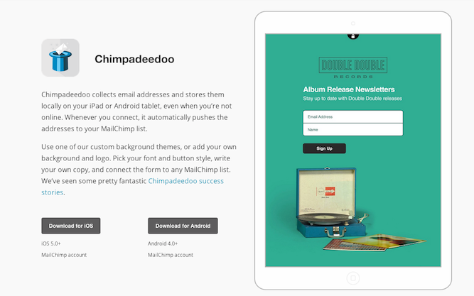 Chimpadeedoo sales promotions | Shopify Retail