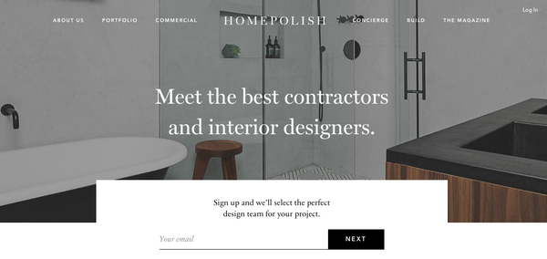 Interior design, Homepolish | Shopify Retail blog
