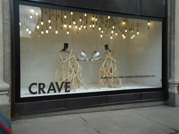 Retail window display lighting | Shopify Retail blog