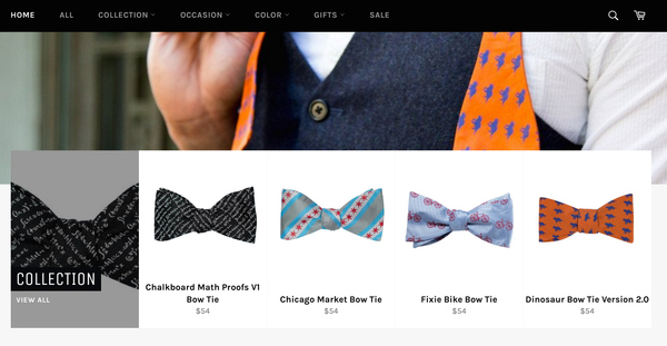 Oootie bowties   Shopify Retail blog