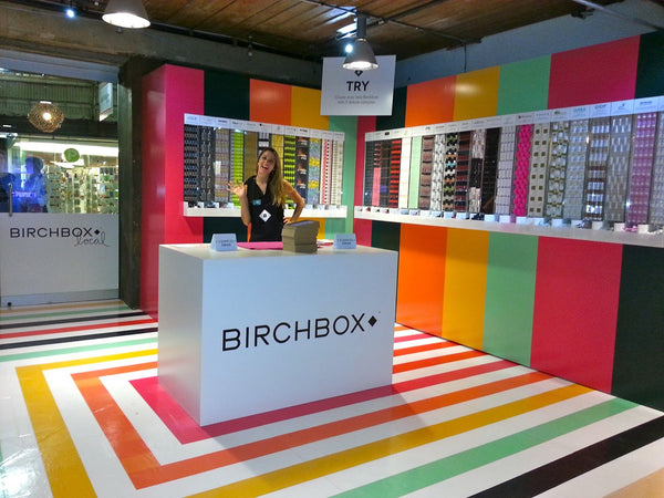 Birchbox pop-up shop | Shopify Retail blog