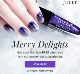 Free samples, Julep cosmetics | Shopify Retail blog