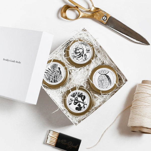 Brooklyn Candle Studio product packaging | Shopify Retail blog
