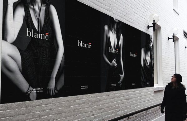 Blame pop-up shop | Shopify Retail blog