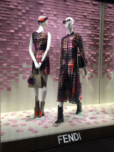 Fendi mannequins | Shopify Retail blog