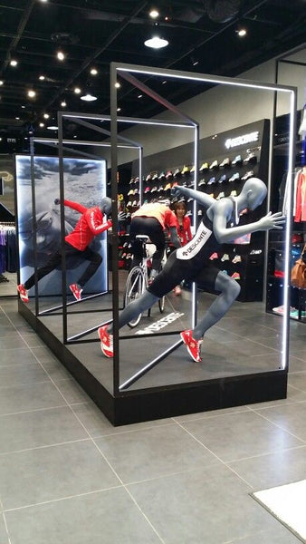 Nike mannequin display | Shopify Retail blog