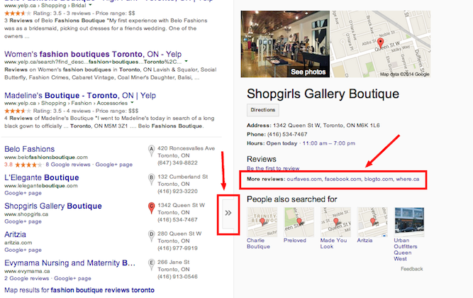 Reviews and local SEO | Shopify Retail