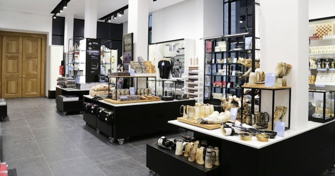 Going to the right, retail design | Shopify Retail